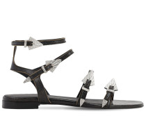 10MM USED LEATHER SANDALS