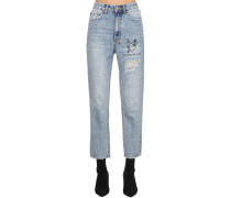 JEANS AUS DENIM 'CHLO WASTED HEARTBURN'