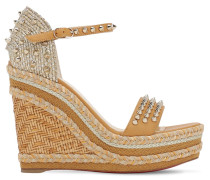 120MM MADMONICA LEATHER & ROPE WEDGES