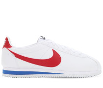 CORTEZ LEATHER & MESH SNEAKERS