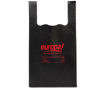 LEDERTASCHE MIT EUROPA-DRUCK