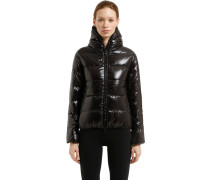 THIA 5 SHINY NYLON DOWN JACKET