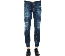 17CM JEANS AUS DENIM 'CITY BIKER'