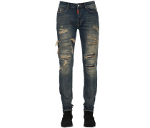 SUPERENGE JEANS AUS DENIM 'WHY IS MORTEN'