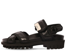 30MM LEATHER HIKING SANDALS