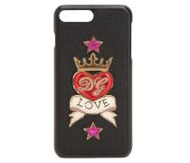 IPHONE 8 PLUS-COVER AUS LEDER 'LOVE'