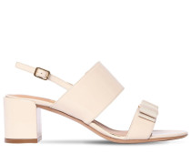 55MM GIULIA 1 PATENT LEATHER SANDALS