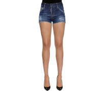 SHORTS AUS BAUMWOLLDENIM IM COOL GIRL FIT