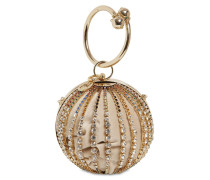 TRIVIA EMBELLISHED HALF SPHERE BAG