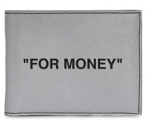 REFLECTIVE BIFOLD 'FOR MONEY' WALLET