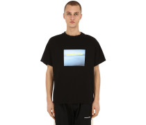 SMOG ANGELES COTTON JERSEY T-SHIRT