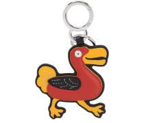 BIRD CHAIN LEATHER KEY CHAIN