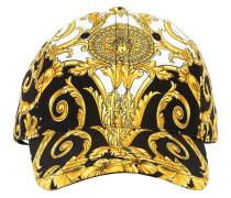 BAROQUE PRINT COTTON BASEBALL CAP