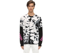 TIE DYED L/S COTTON JERSEY T-SHIRT