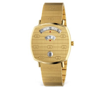 35MM GUCCI GRIP STAINLESS STEEL WATCH