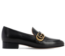 25MM MARMONT LEATHER LOAFERS