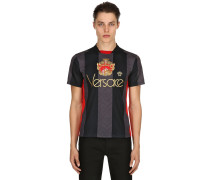 CREST STRIPED TECHNO FOOTBALL JERSEY