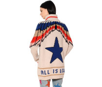 CARDIGAN AUS WOLLE 'ALL IS LOVE'
