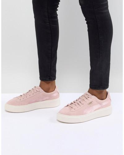Liefern Günstige Standorte Verkauf Auslass Puma Damen Wildleder-Sneaker mit Plateausohle Besuchen Neue Günstig Online Wa1MMrBC8