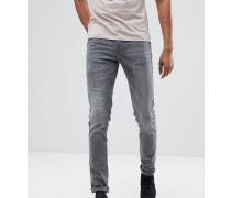 TALL - Cirrus - Enge Jeans in Jeansgrau