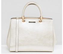 Shopper-Tasche aus Raffia