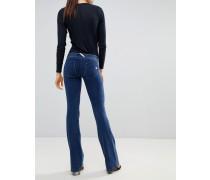 WR.UP - Ausgestellte formende Jeans mit Push-Effekt