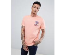 Pete Penguin T-Shirt mit Rückenprint im Stil der 80er