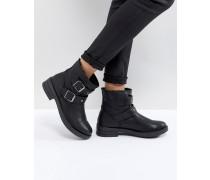 ACCENT - Biker-Ankle-Boots mit Nietenverzierung