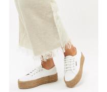 2790 Espadrille - Flache Sneaker in Weiß