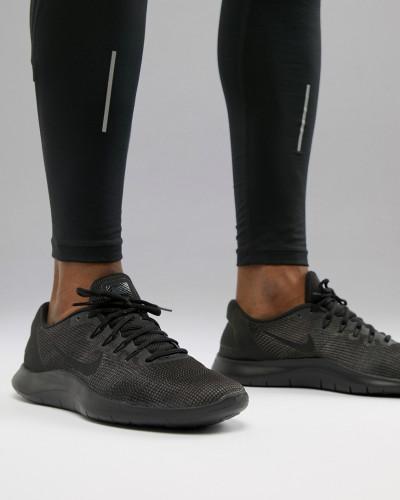 Nike Herren Flex 2018 - Sneaker in Triple Black AA7397-002 Verkauf Nicekicks Aus Deutschland Online Bilder Günstiger Preis Aus Deutschland Zum Verkauf Der Billigsten 0vtDT7xdoR