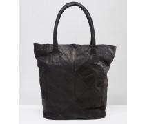 Shopper-Tasche aus Leder