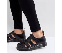 Vibal - Geschlossene Sandalen in Schwarz