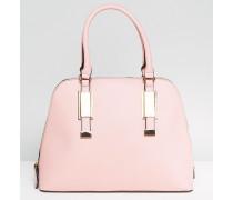 Dome - Tasche in Rosé mit Henkel oben