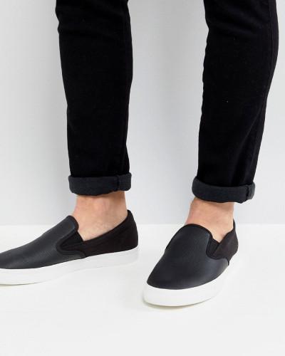 100% Original Günstiger Preis Niedrig Versandkosten Fred Perry Herren Underspine Leder-Sneaker zum Hineinschlüpfen Websites Online doAEwPDM