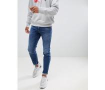 Thommer 084UH - Schmal geschnittene Stretch-Jeans