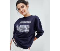 Sweatshirt mit G-Print