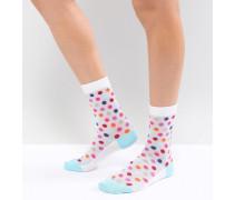 PS by Paul Smith - Gepunktete Socken aus Netzstoff