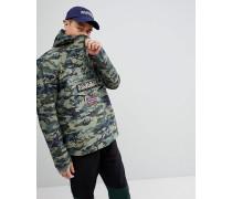 Rainforest - Jacke mit Military-Muster