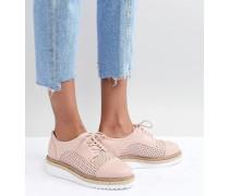 Eva - Flache Schuhe mit Seilschnürung
