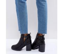 Taffy - Ankle-Boots mit nietenbesetztem Absatz