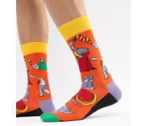 x The Beatles - Yellow Submarine - Socken
