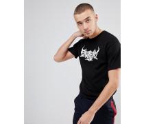 T-Shirt mit Flammen-Logo