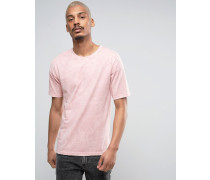 farbenes Oversize-T-Shirt in Acid-Waschung