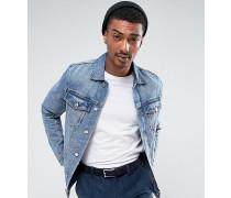Staple - Jeansjacke im Stil der 90er Blau