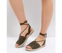 JASIA - Sandalen im Espadrille-Stil