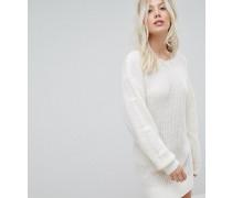 Exklusives Pulloverkleid mit gestuften Ärmeln