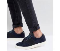 Dannez - Wildleder-Sneaker in Marineblau