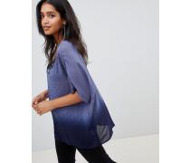 Amira - T-Shirt mit verziertem Halsausschnitt