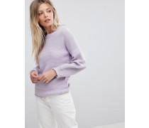 Oversize-Pullover mit Ballonärmeln