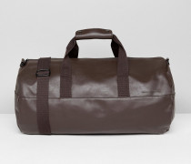 Weiche runde Tasche in Braun
